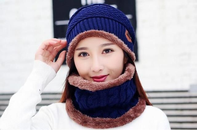 6176e4aa85f Products · DEXING Knitted Ski Hat and Scarf