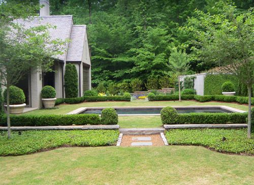 Love This Type Of Pool Garden Styles Landscape Design Curb Appeal