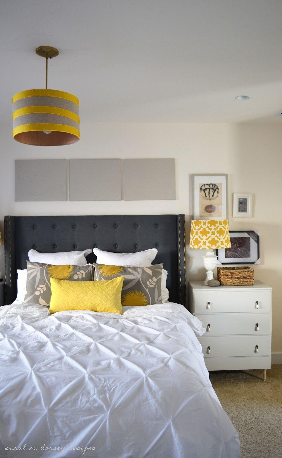 Wonderful Dark Gray Color Scheme IKEA Headboard Design