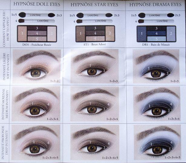 082d4821832 Lancome x Alber Elbaz: Hypnose Doll Eyes 5 Color Palette D05 ...