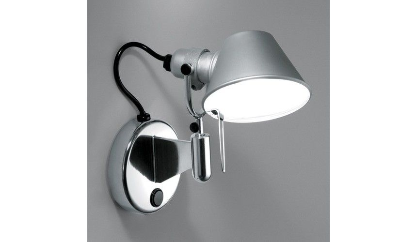 Artemide Tolomeo Micro Faretto Wall Lamp Wall Lights Artemide Artemide Lighting