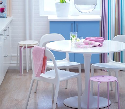 mesa redonda ikea | Decorating | Ikea tulip table, Ikea table y mesa ...