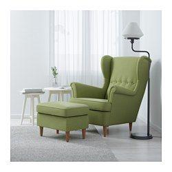 Ohrensessel ikea grün  STRANDMON Wing chair, Skiftebo green - Skiftebo green - IKEA ...