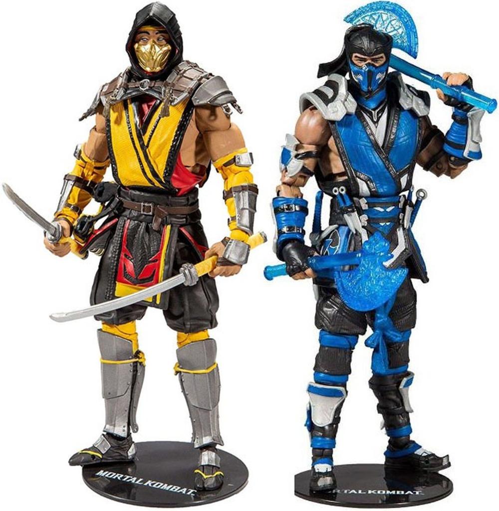 Mcfarlane Toys Mortal Kombat 11 Mortal Kombat Series 1 Mortal Kombat Scorpion Mortal Kombat Sub Zero Mortal Kombat