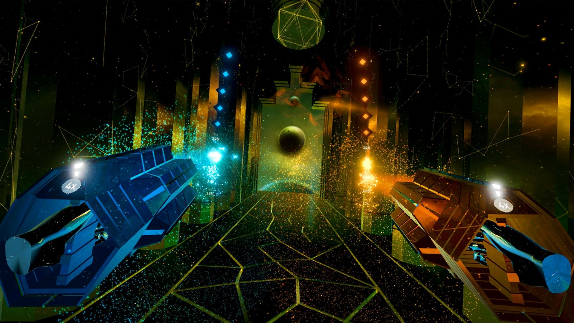 Audica VR Review Chaotic Rhythm Shooter in 2020 Music