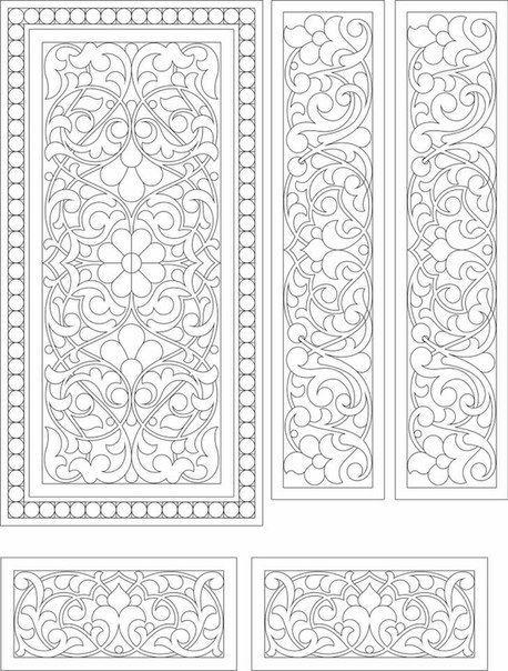Boite Peinte Medievale Orpaline Art De Modeles Modeles De Vitraux Art Du Papier
