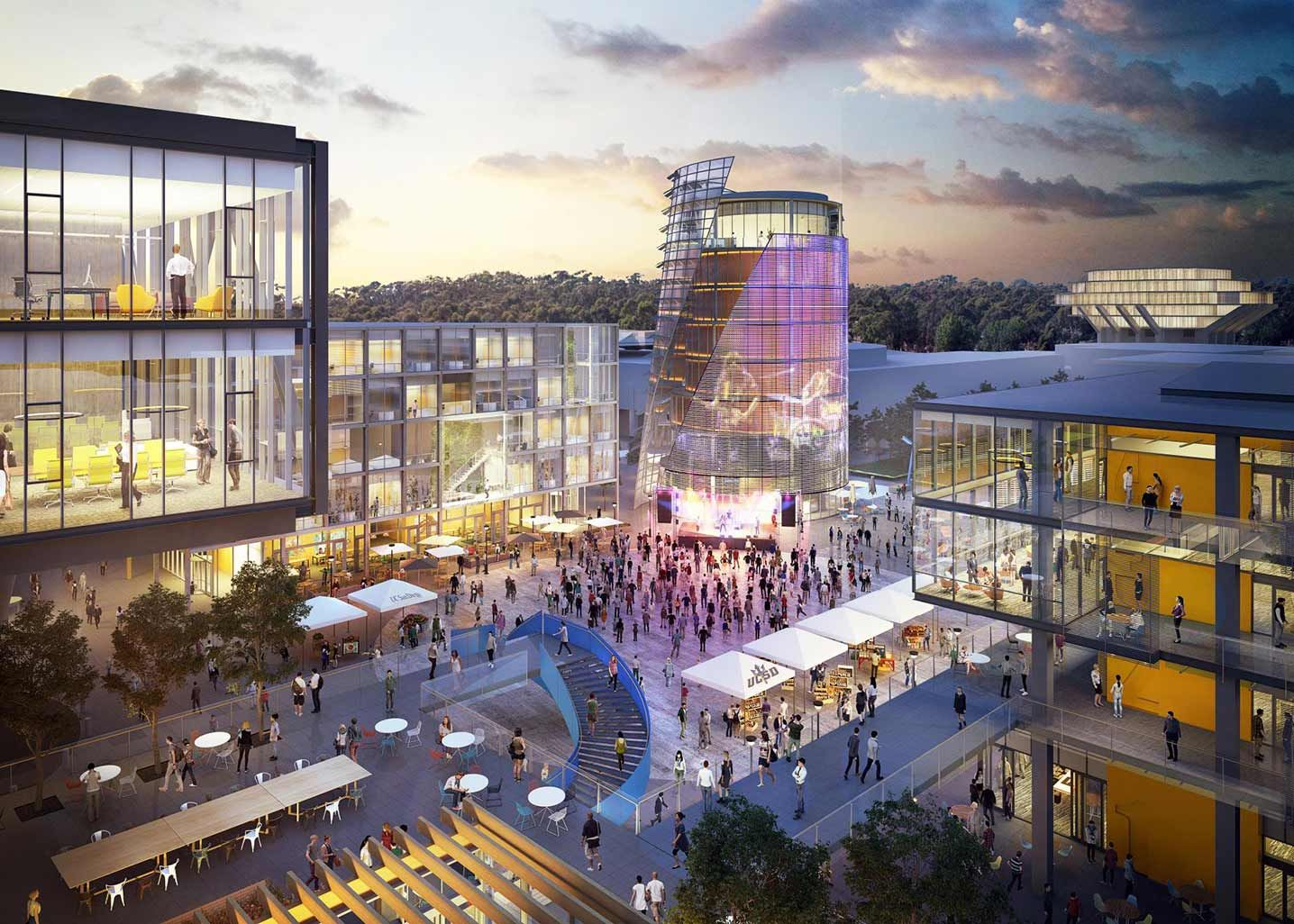 Uc San Diego Slated To Build A New Campus Front Door Archpaper Com University Of San Diego University Of California San Diego Campus