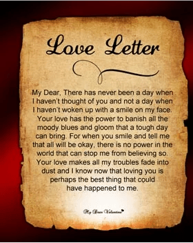 Valentines Day Love Letters For My Wife  Fm