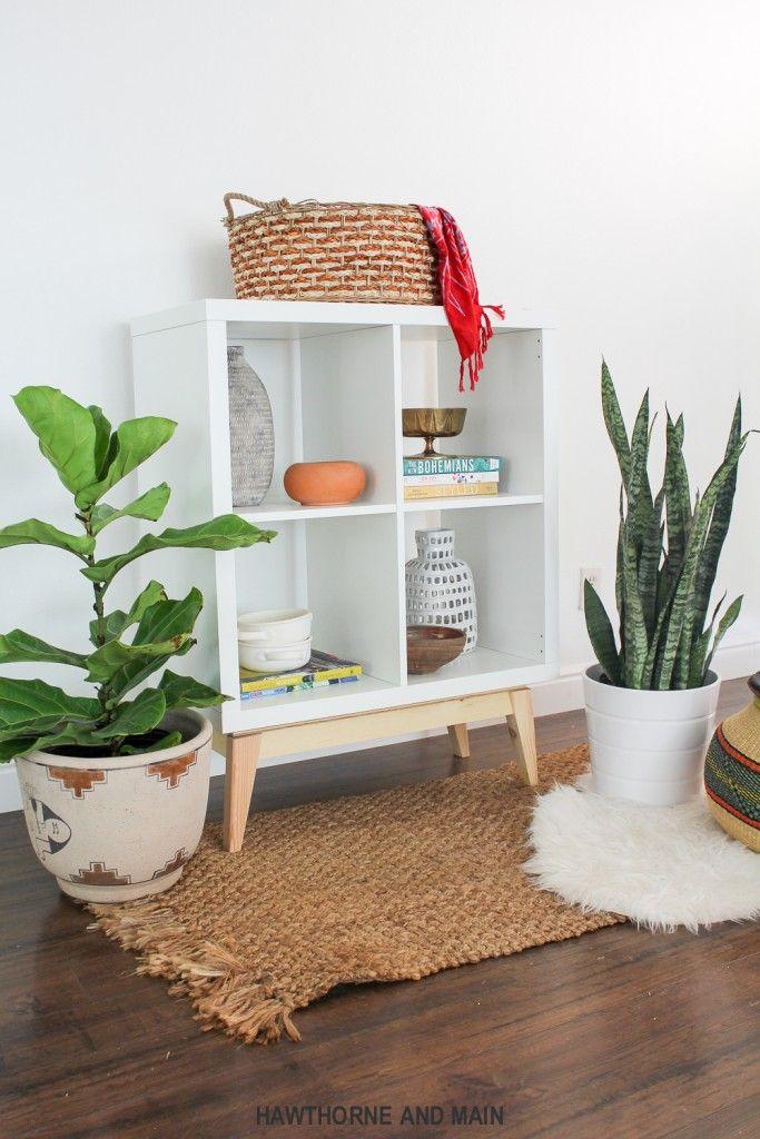 ikea hack mid century modern kalax diy ideas m bel. Black Bedroom Furniture Sets. Home Design Ideas