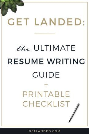 All the best resume writing tips in one place The ultimate resume - guide to resume