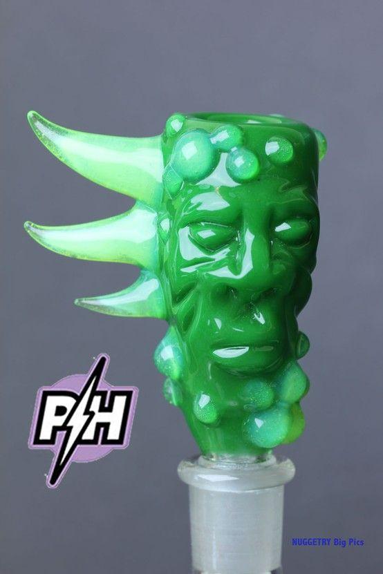 heady glass on glass #slide   #slime #art #head