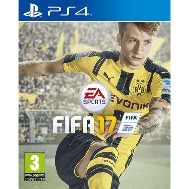 PS4 FIFA 17  FIFA 17 voor de PS4 is gemaakt met de Frostbite-engine. Deze engine zorgt voor autenthieke levensechte voetbalactie zoals nooit tevoren in een FIFA game.  EUR 58.99  Meer informatie