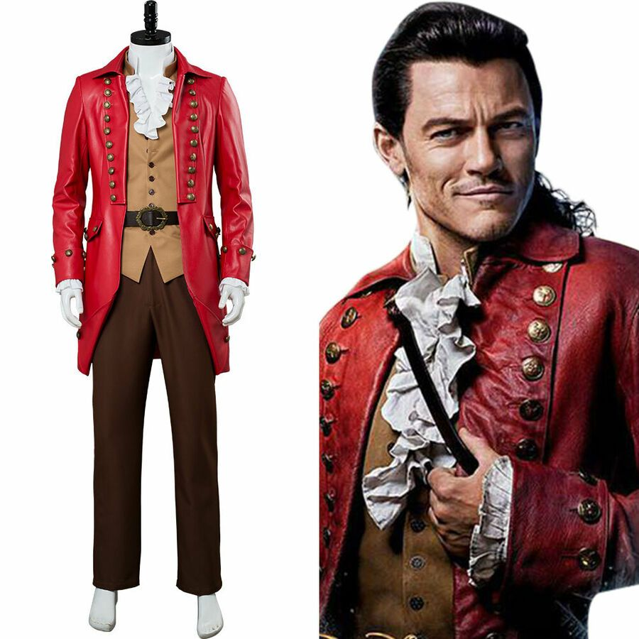 New Beauty and The Beast Hunter Gaston  Cosplay Shoes Boots