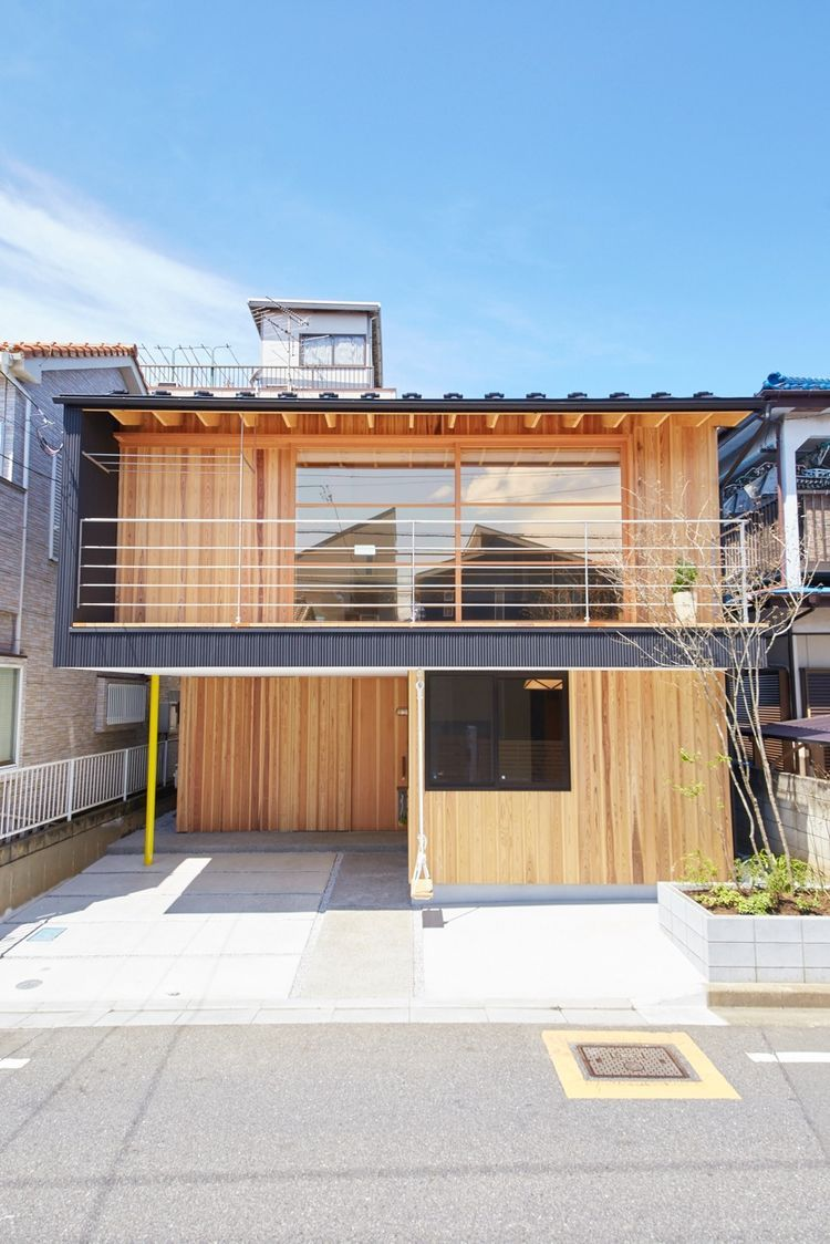 Related Image For The Home Pinterest Home Outside Design Facade Of Modern Japanese Home Outside Tokyo.