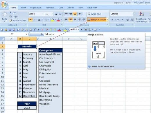 How to Make a Spreadsheet to Keep Track of Expenses