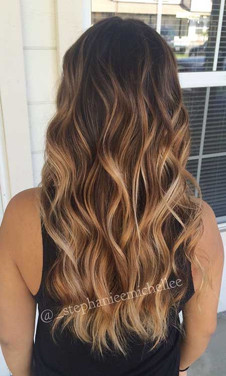 mbre balayage f rbung ist der gr te hair trend f r den frauen mit langen haaren es sieht. Black Bedroom Furniture Sets. Home Design Ideas
