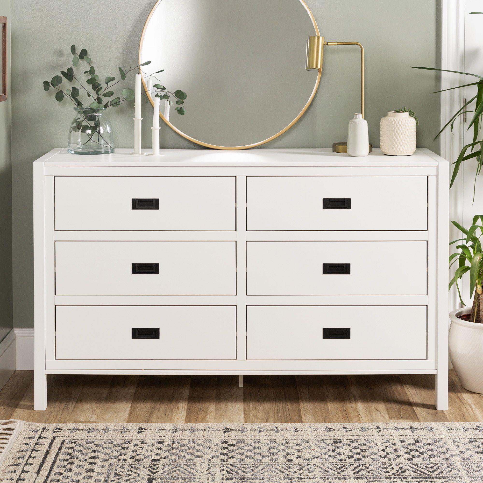Annabelle Six Drawer Solid Wood White Dresser By Chateau Lyon Walmart Com In 2021 Dresser Decor Bedroom White Dresser White Dresser Decor [ 2000 x 2000 Pixel ]