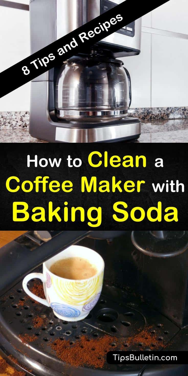 8 fast ways to clean a coffee maker with baking soda