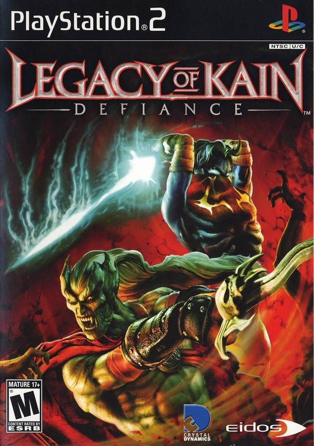 Legacy Of Kain Defiance Xbox Games Playstation Playstation 2