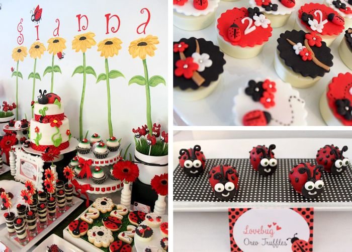 Party Planning Ideas | Lovebug 2nd Birthday Party with LOTS of Ideas via Kara's Party Ideas ...