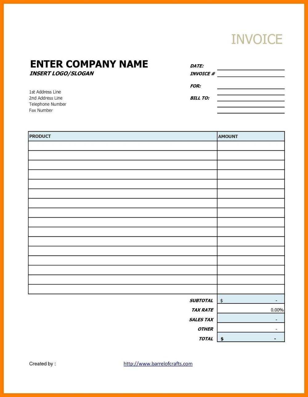 Invoice Template Google Drive Ideas Contractor Docs Best