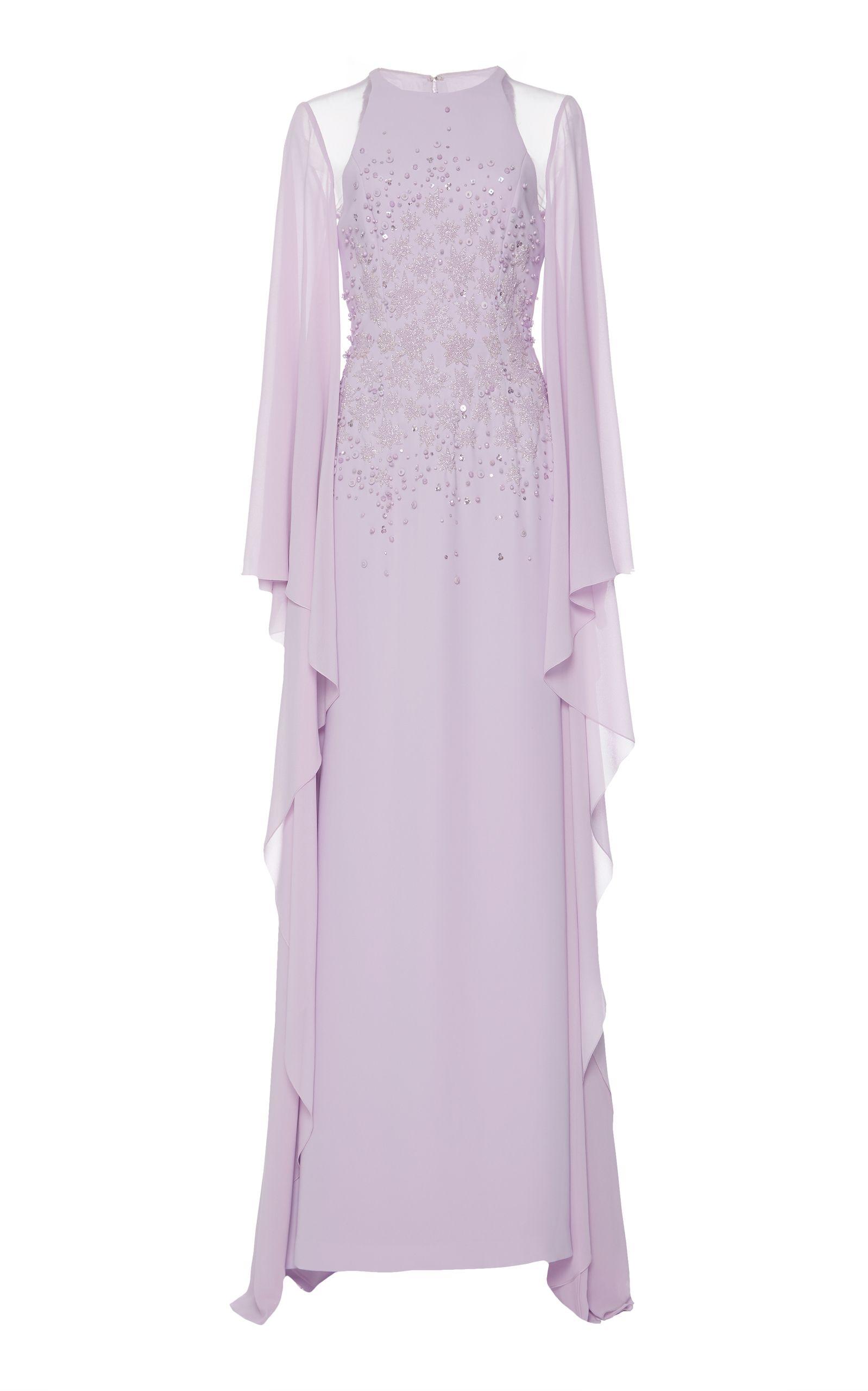 Georges Hobeika Bead Embellished Gown