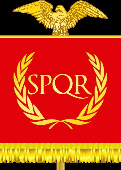 Flag Of The Roman Empire Reconstruction Rome Roma Art More Pins Like This At Roman Empire Roman History Roman Artifacts