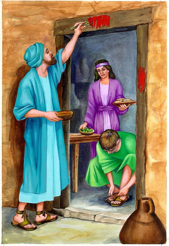 библейские истории с картинками восторге
