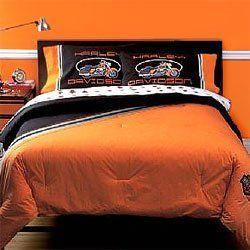 King Size Harley Davidson Bedding Amazon Com Harley Davidson Rhinestone Set Bed In A Bag Queen Harley Davidson Bedding Harley Davidson Decor Davidson Homes