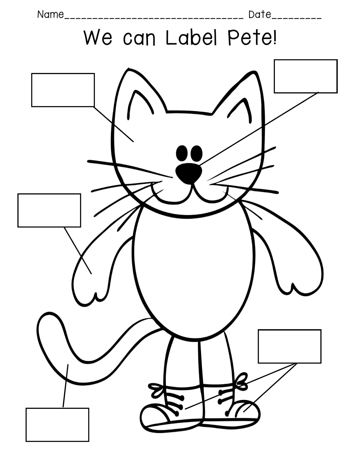 Pride and Primary: Pete the Cat Rocking in My School Shoes