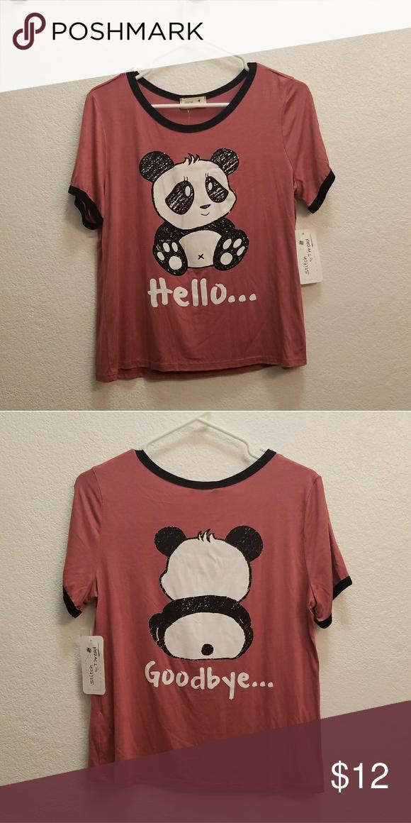 3ac5349ba Panda T-Shirt Panda t-shirt