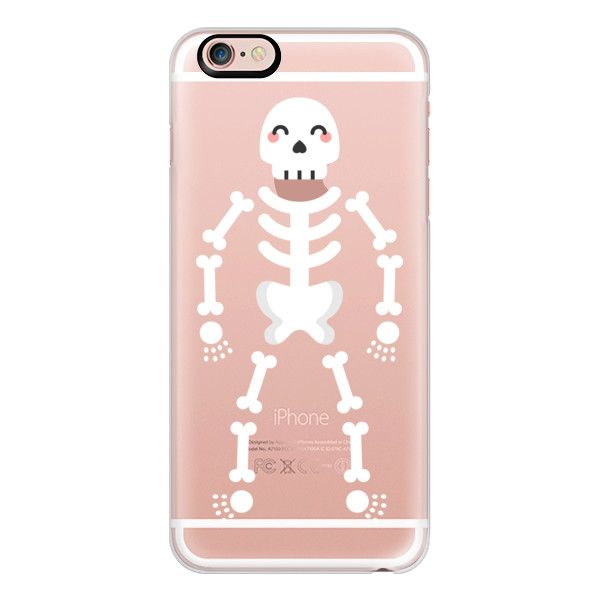 iPhone 6 Plus/6/5/5s/5c Case - Skeleton ($40) ❤ liked on Polyvore featuring accessories, tech accessories, phones, phone case, iphone case, apple iphone cases, slim iphone case, iphone cases and iphone cover case