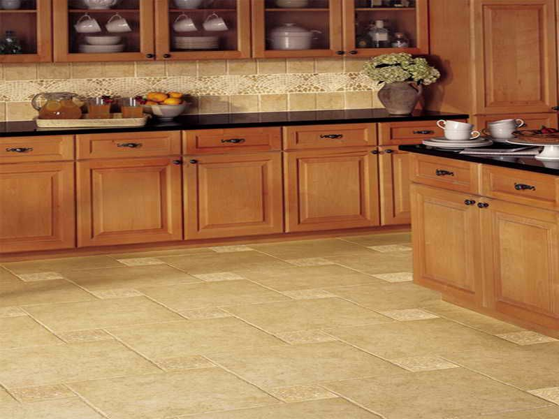 Interior: Nice Kitchen Floor Tiles, Types Of Tile Flooring For Home  Interior Design Types