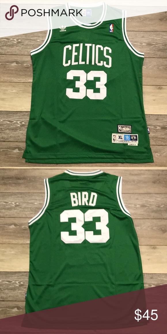 004fb2abc Retro Larry Bird Boston Celtics Swingman Jersey XL Brand New w Tags Men's  Size XL Larry Bird #33 Adidas Swingman Jersey Perfect Condition adidas  Shirts Tank ...