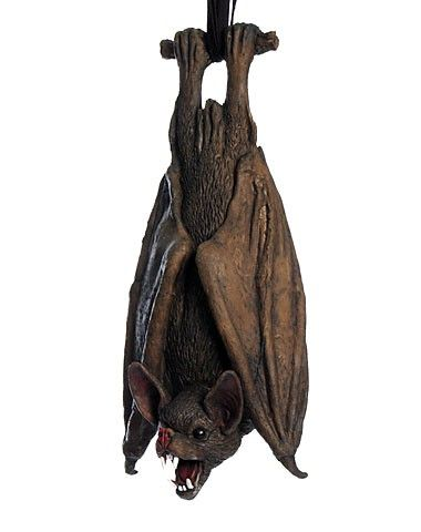 upside down latex bat decoration the ultimate halloween decoration that no horrific scene should be