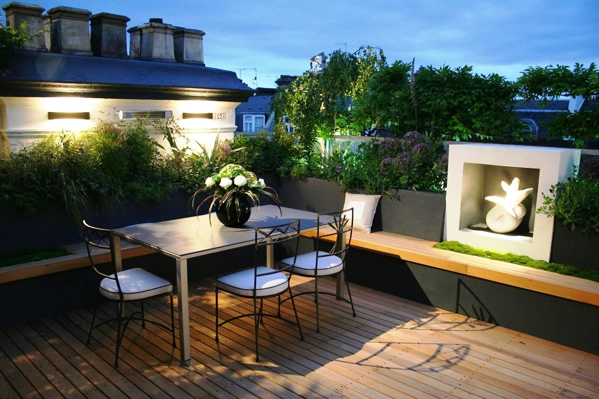 Lighting for small balconies - Small Terrace