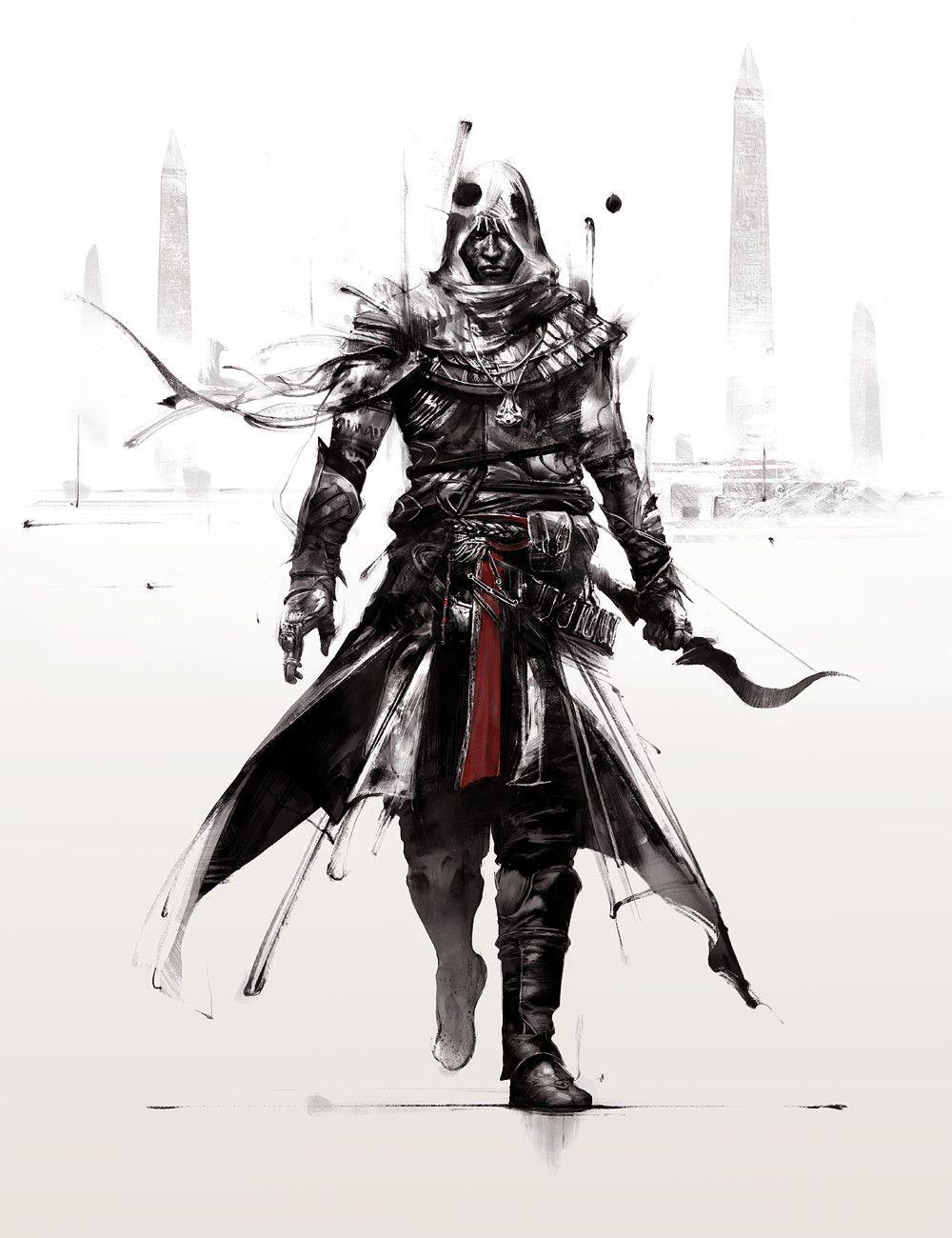 Artstation Assassin S Creed Red Ii Bayek Simon Goinard