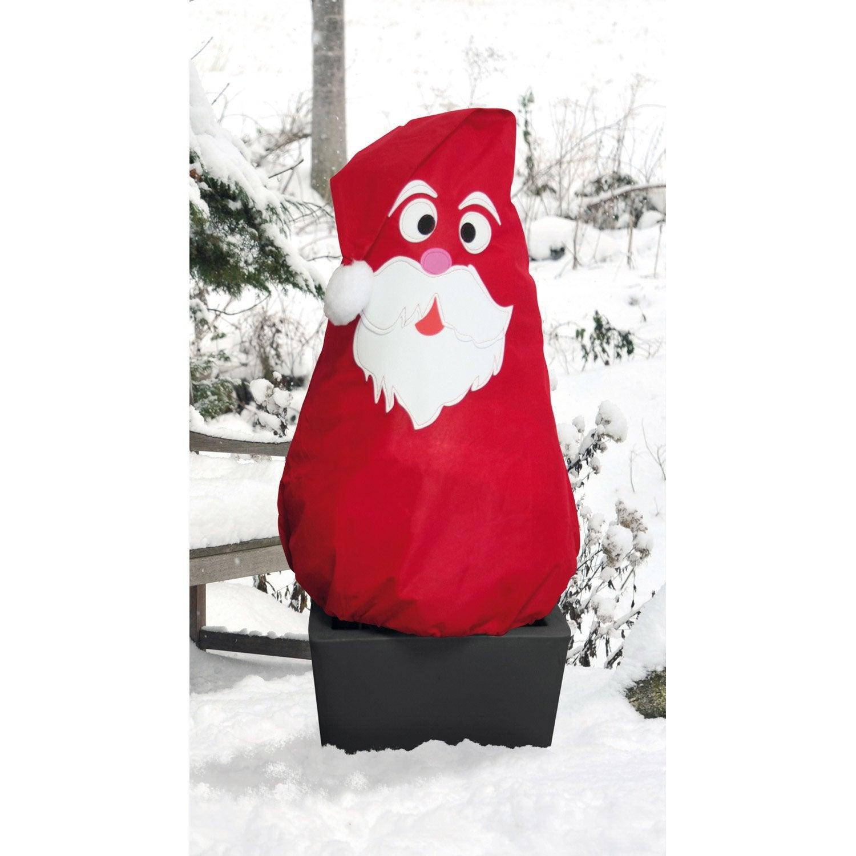 Voile D Hivernage Decoratif Vilmorin Pere Noel Noel Voile