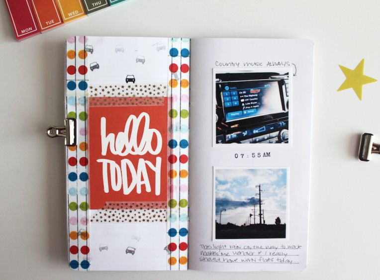 Day In The Life 2016 Layouts Journal And Journaling