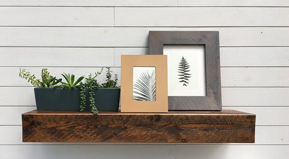 Modern Rustic Deep Floating Shelves Floating Shelves Etsy Floating Shelf Decor Floating Shelves Floating Shelves Kitchen