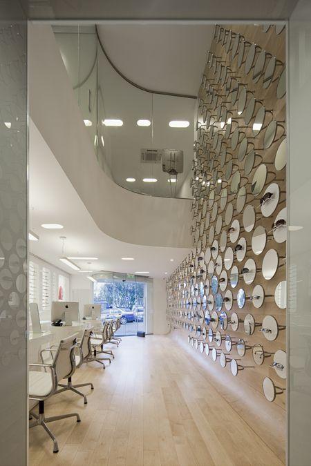 Pin di 2016 ea cristina martinez r su espacios optica for Progettazione spazi interni