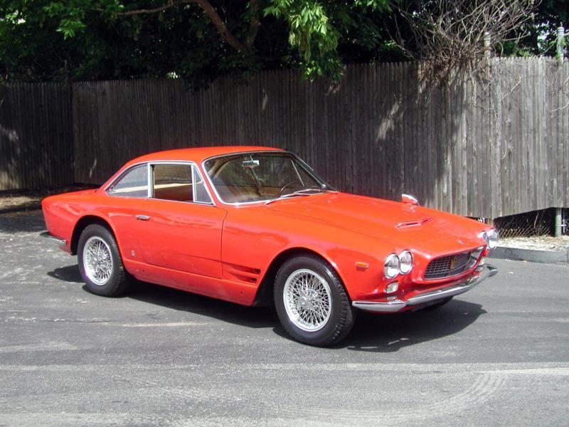 1964 Maserati 3500 Vignale Maserati, Automobile, Bmw