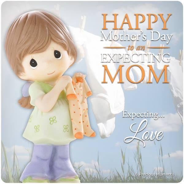 Mothersday Expecting Preciousmoments Precious Moments Figurines Happy Mothers Day Happy Mother S Day