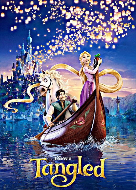 BUY 2 GET 1 FREE! Disney Princess Tangled 703 Cross Stitch Pattern Counted Cross Stitch Chart Pdf Fo