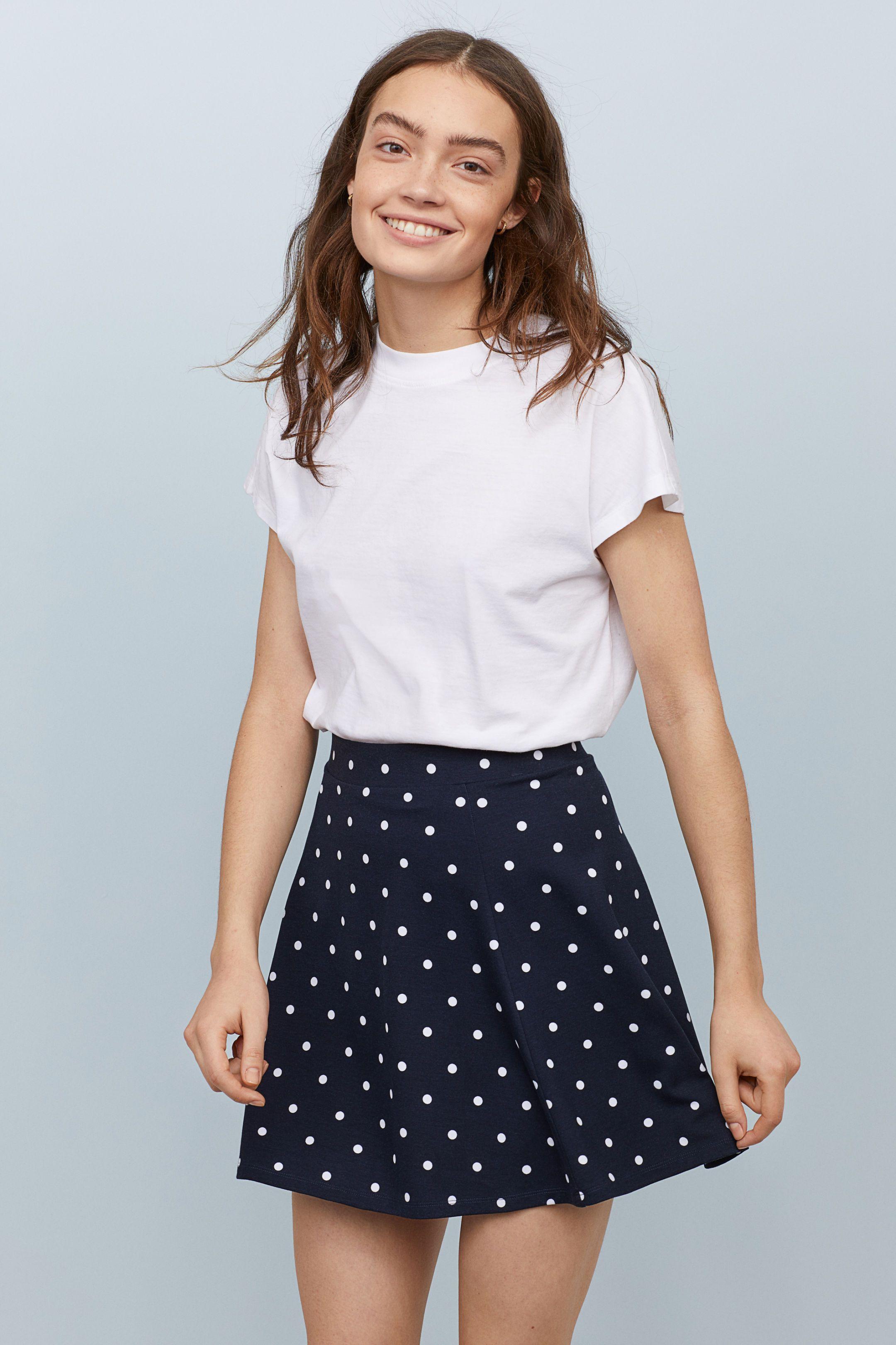 e0ea0f70099b Skater Skirt in 2019   clothes and shoes   Skater skirt, Blue skater ...