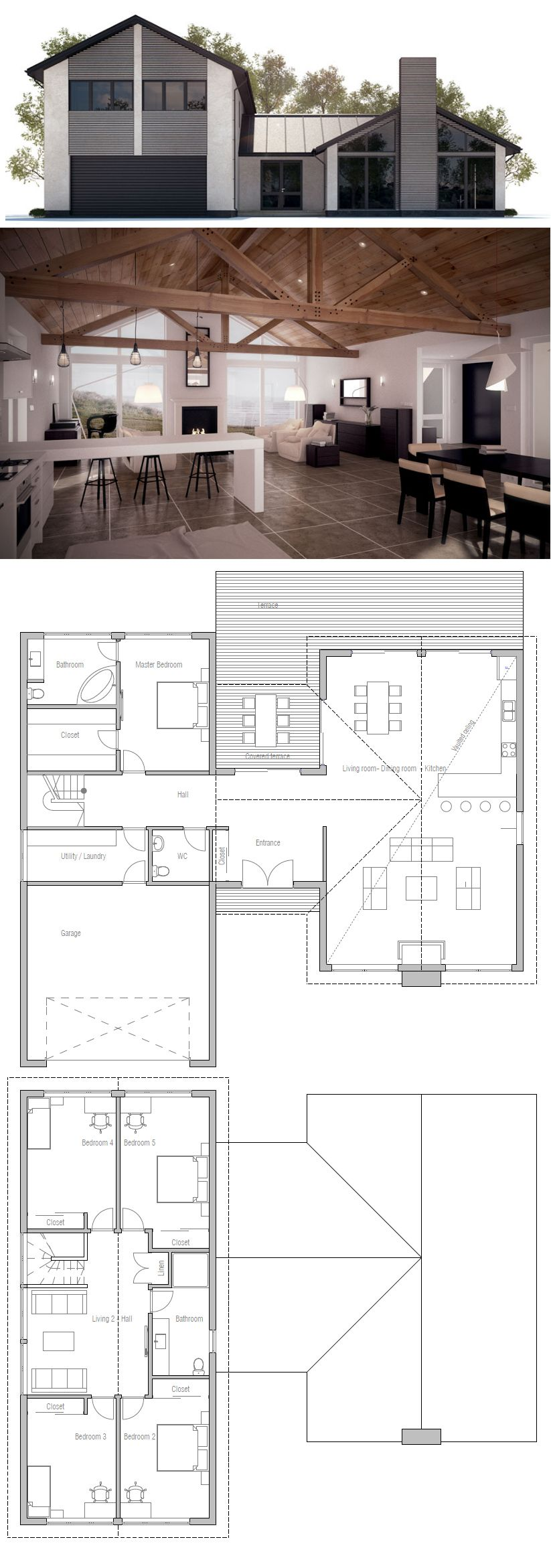 ^ 1000+ images about Grundrisse on Pinterest House, House plans ...