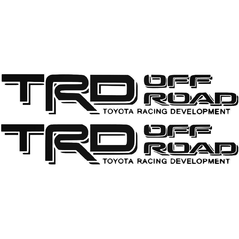 TRD TOYOTA RACING DEVELOPMENT 4x4 OFF ROAD TACOMA TUNDRA MOUNTAIN DECAL STICKER