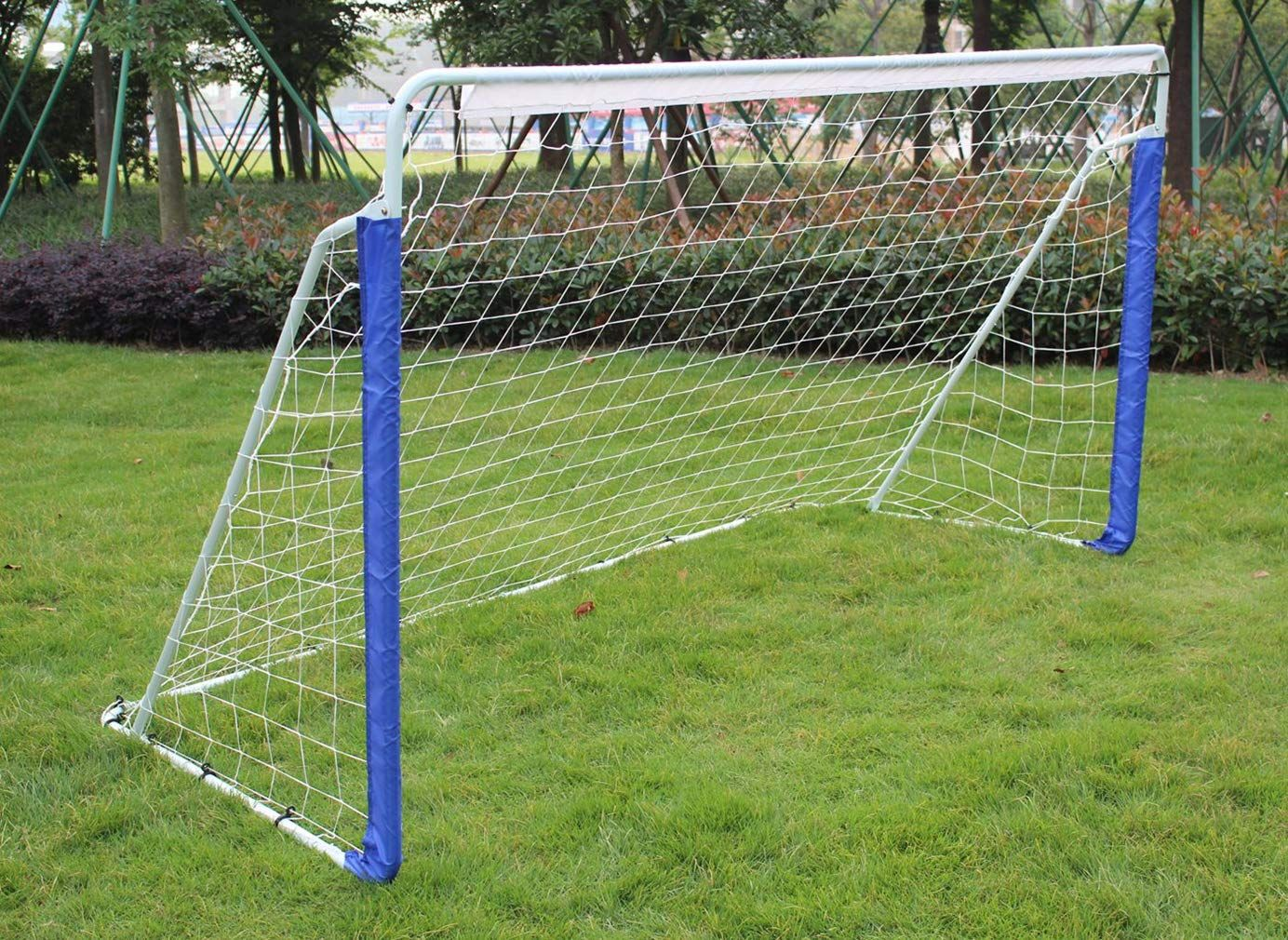 Klb Sport 8 X 5 Portable Steel Soccer Goal With Net And Carry Bag To View Further For This Item Visit The Image Link This Is An Soccer Goal Soccer Goals