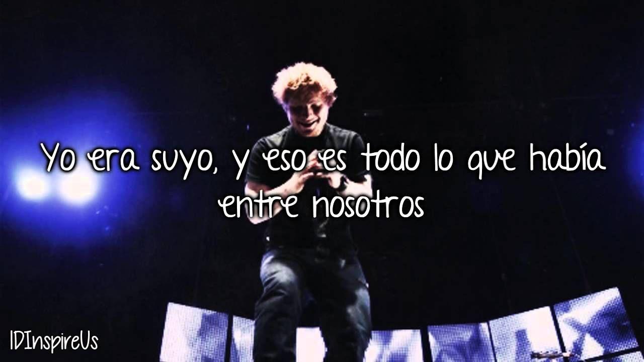 Sunburn Ed Sheeran Traducida Al Espaol Msica Pinterest