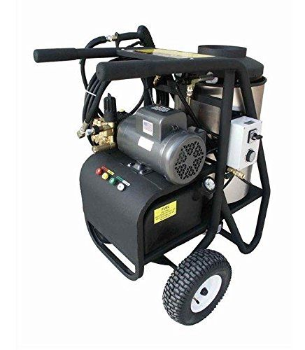 Sh Series 34 In Oil Fired Hot Water Pressure Washer 2 Hp